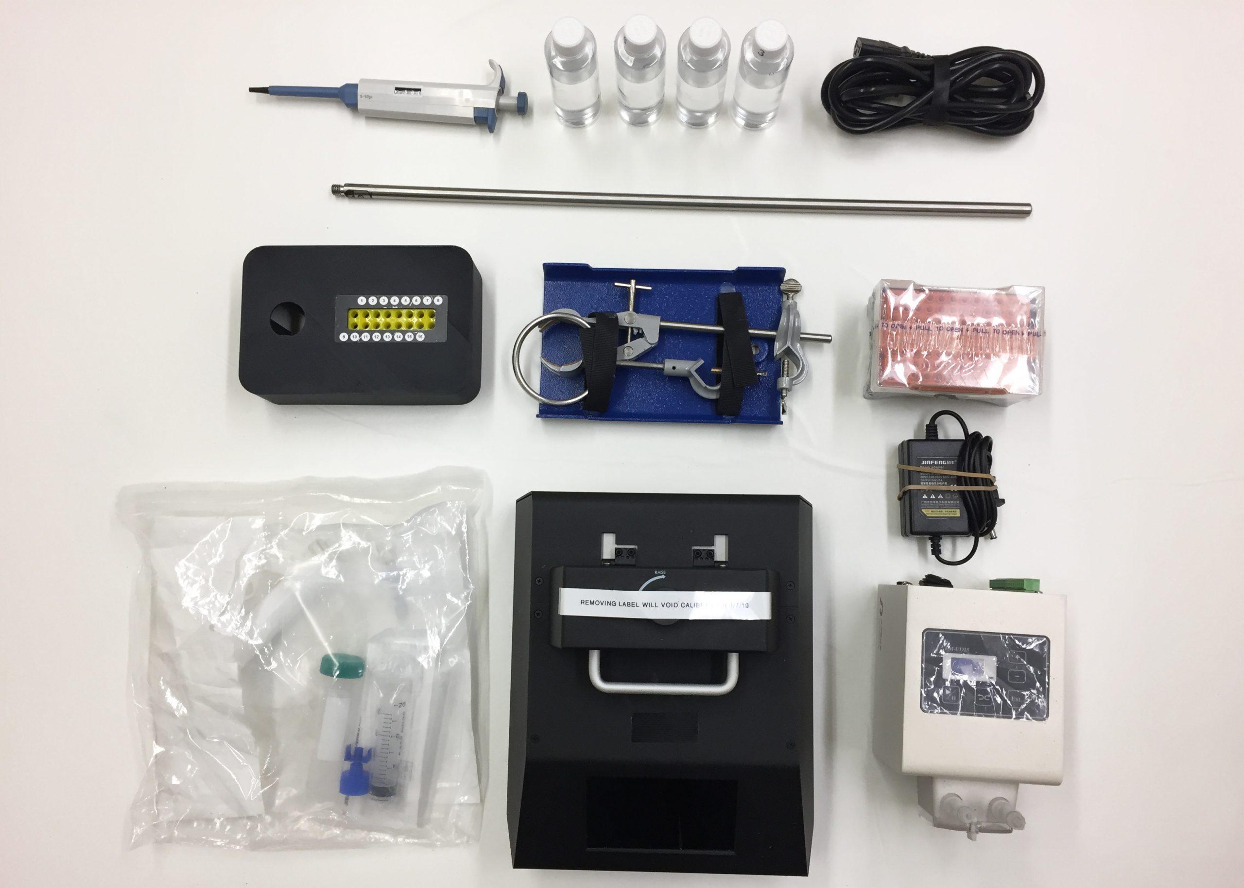 Equipment for Custom Travel Case