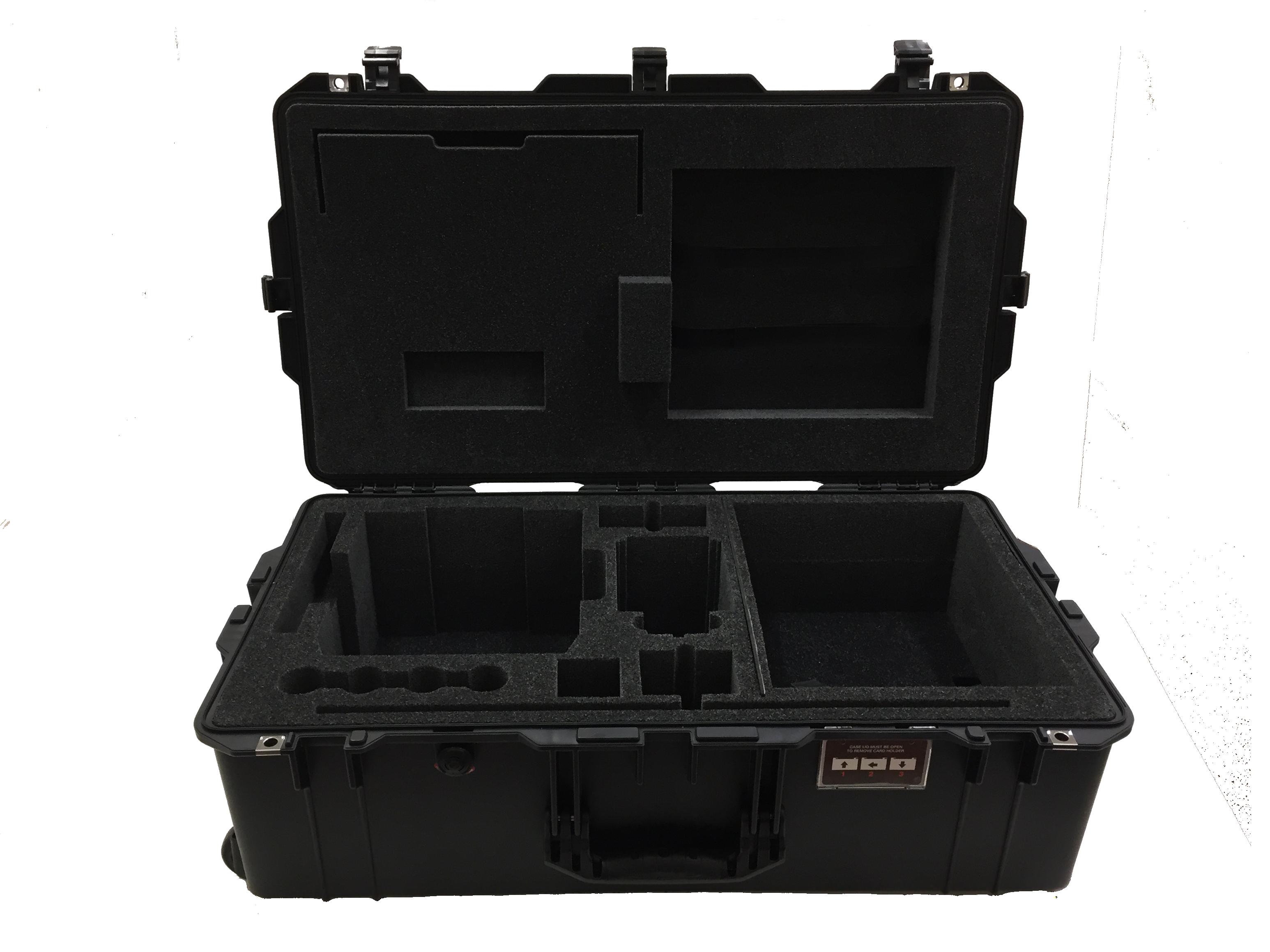 Custom Cut Foam Inserts for Equipment Travel Case