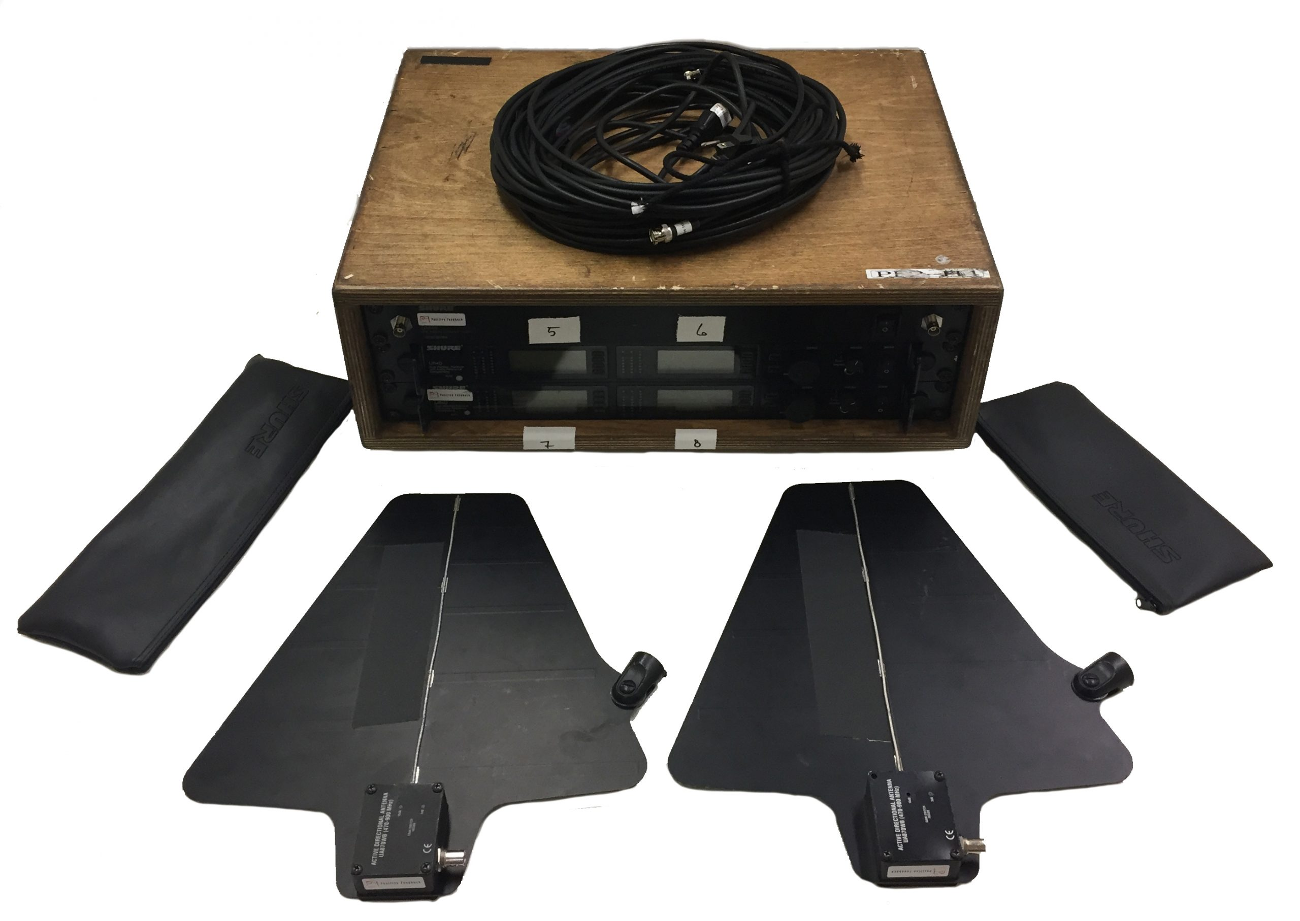 Sound Recording Equipment and Microphone Receivers