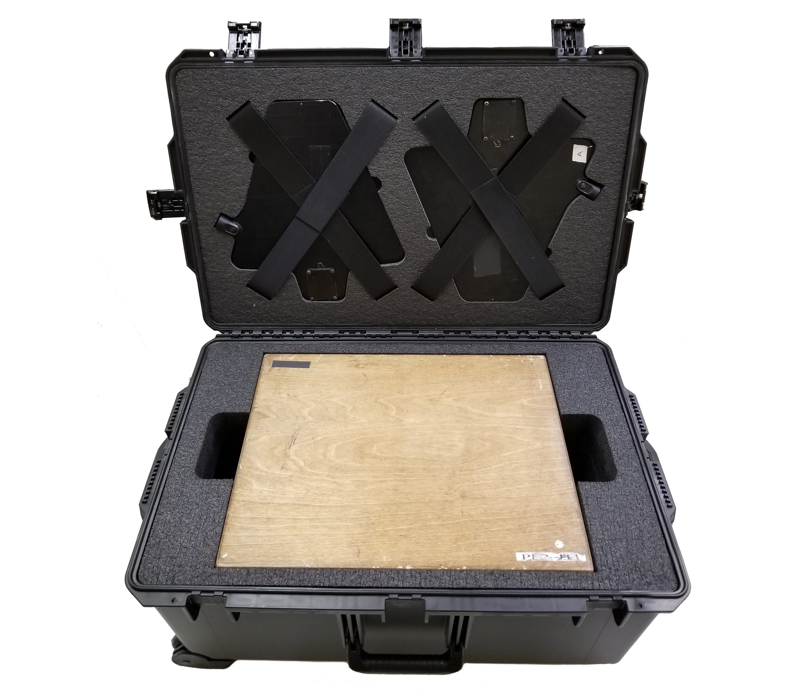 Custom Sound Recording and Microphone Receivers Foam Case Insert by Fush Cases