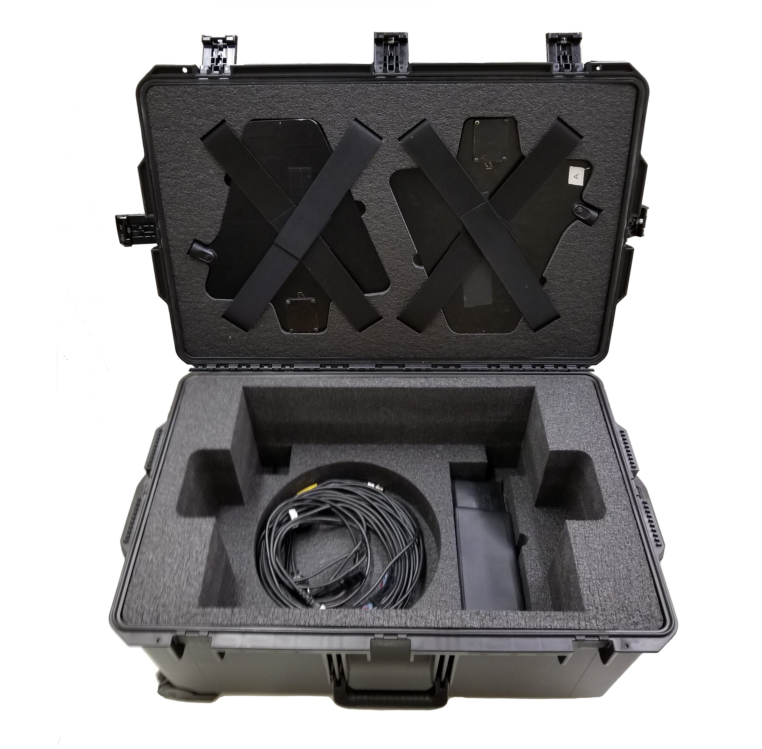 Foam Case Insert for Sound Recording and Microphone Receivers