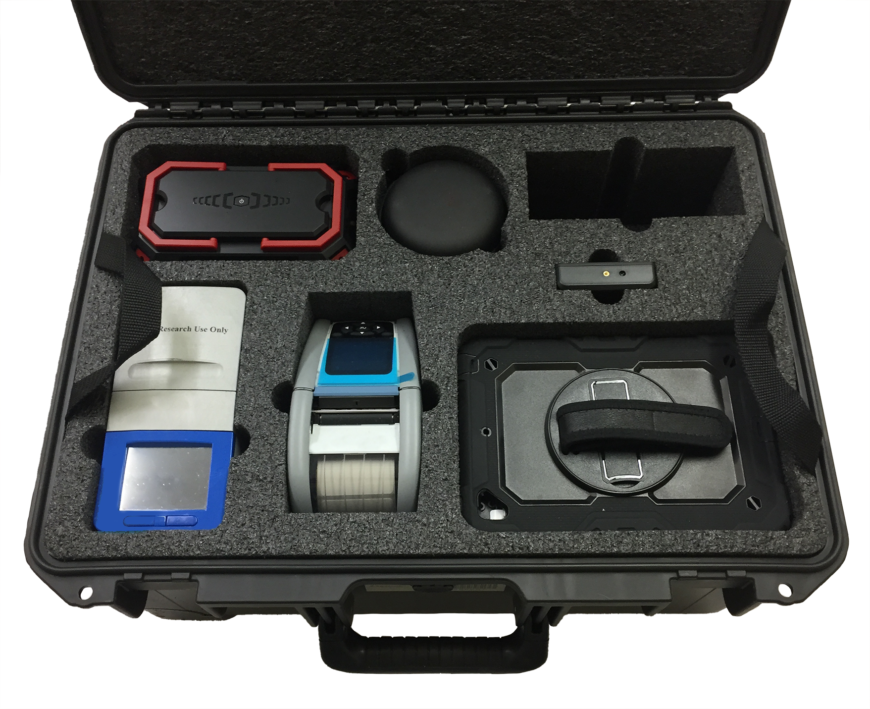 Customized Portable Medical Case to House COVID-19 Testing Kit Created by FUSH Cases