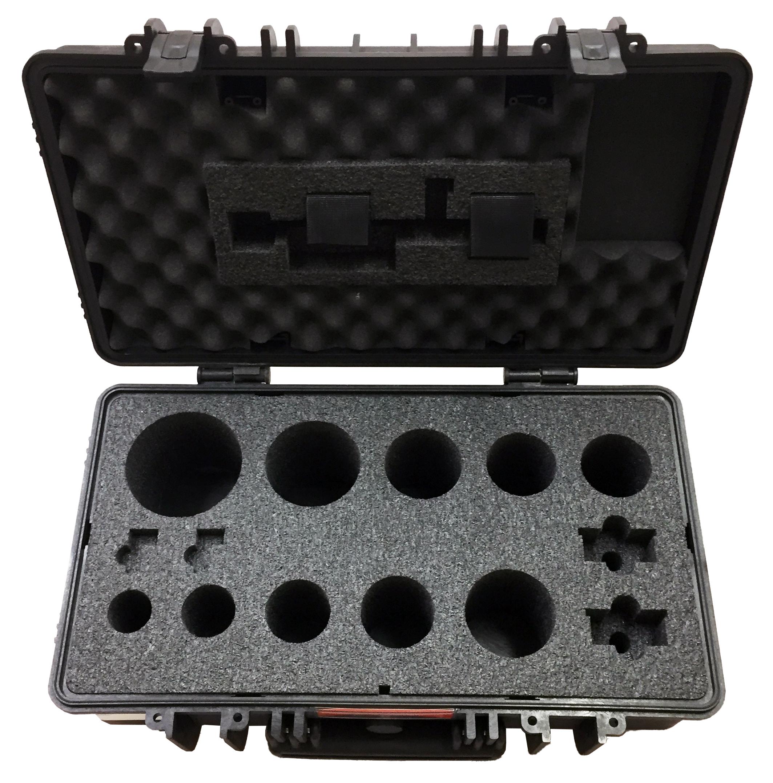 Custom Foam Insert for Case Housing Sensitive Gas Testing Equipment by FUSH Cases
